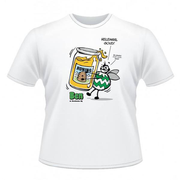 Helemaal Goud T-shirt Westland, naaldwijk